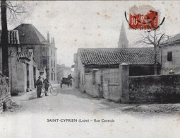 ST CYPRIEN- Rue centrale