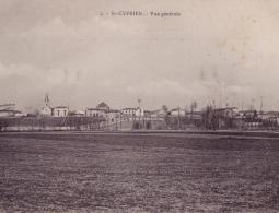 ST CYPRIEN- Vue generale depuis le bas
