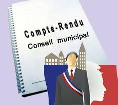Réunion du Conseil Municipal : ordres du jour et comptes-rendus