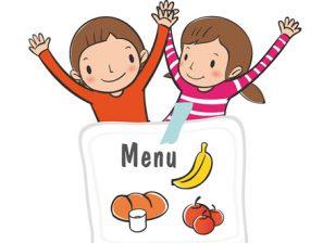Menu du restaurant scolaire