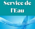 Le service de l'Eau