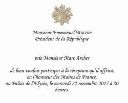 Invit Macron