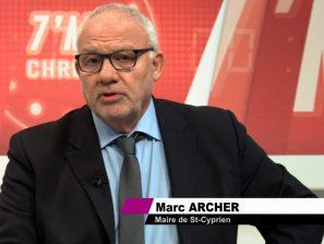Marc Archer à l'émission 7'mn chrono de TL7