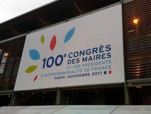 100ème Congrès des Maires à PARIS