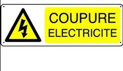 COUPURES D'ELECTRICITE pour travaux : Mardi 16 Juin 2020