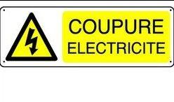 Coupure d'électricité le 19 juin 2019