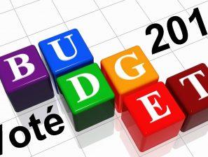 Le budget 2018 est voté.