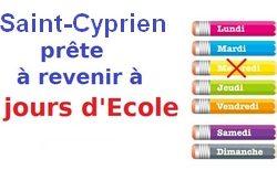 !! Démenti sur les Rythmes scolaires à Saint-Cyprien : ERREUR dans l'article du Progrès