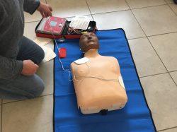Organisation d'une formation à l'utilisation d'un défibrillateur par la Municipalité