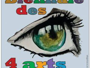 Nouveauté Cypriennoise : BIENNALE des 4 ARTS en septembre !