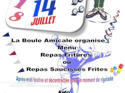 Le 14 juillet à Saint-Cyprien !