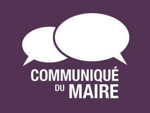 Déclaration de Mr le Maire faite lors du Conseil Municipal du 4 juillet