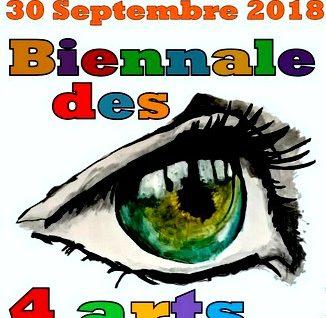 [nouveauté …. ] Biennale des 4 arts à Saint-Cyprien le 30 septembre !