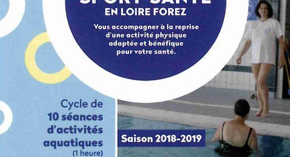 Opération Sport-santé en Loire Forez
