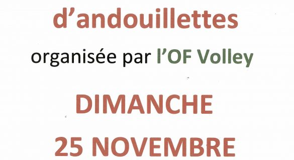 OF Volley – Dégustation d'andouillettes