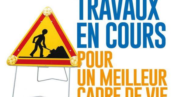 Attention : TRAVAUX rue du stade