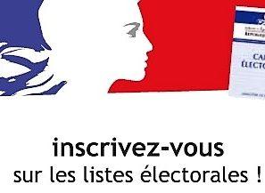 Les nouvelles modalités d'inscriptions sur les listes électorales