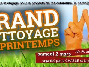 Nettoyage de printemps 2019 : J'AIME LA LOIRE PROPRE