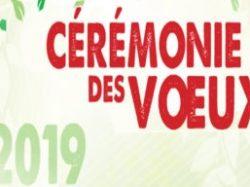 Cérémonie des vœux 2019