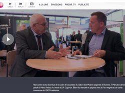 Interview de Mr le Maire à TL7 lors du Congrès des Maire de la Loire
