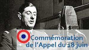 Commémoration du 79éme anniversaire de l'appel du Général de Gaulle