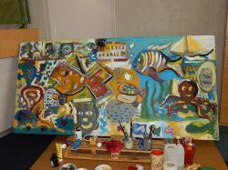 Les Primevères : section Peinture