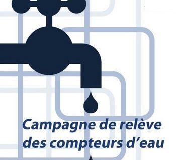 Campagne de relève des compteurs d'eau