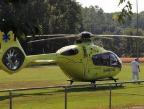 Suite au dossier proposé par Marc Archer, l'agglo veut faciliter l'intervention de l'hélicoptère du Samu.