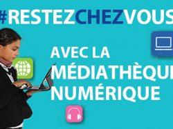 [INFO] Accès gratuit jusqu'à juin à toutes les ressources visuelles de la MEDIATHEQUE NUMERIQUE de la LOIRE