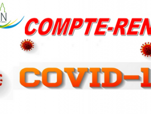 INFO : Compte-Rendu de la gestion de la crise sanitaire COVID-19 par la Municipalité