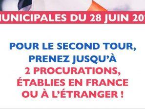 /!\ IMPORTANT – Information élections municipales /!\