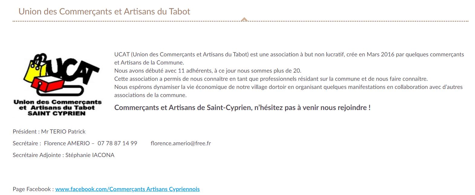 https://www.saintcyprien.fr/union-commercants-et-artisans-du-tabot/