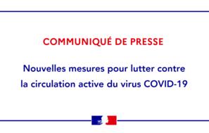 [COVID-19] – Nouvelles mesures dans le département