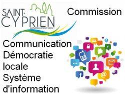 Commission Communication – Démocratie locale – Système d'information