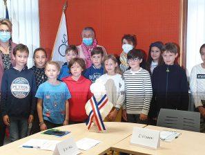 Installation du nouveau Conseil Municipal des Enfants à Saint-Cyprien