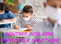 [RENTRÉE SCOLAIRE] PROTOCOLE SANITAIRE du 2 NOVEMBRE 2020 et justificatif de déplacement scolaire