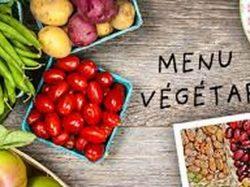 Infos concernant le Menu végétarien