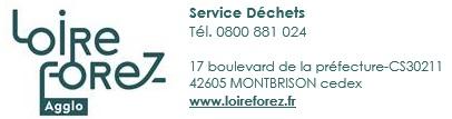Logo Loire Forez Service Déchets