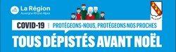 Campagne Régionale de dépistage COVID à SURY LE COMTAL «Tous dépistés avant Noël»