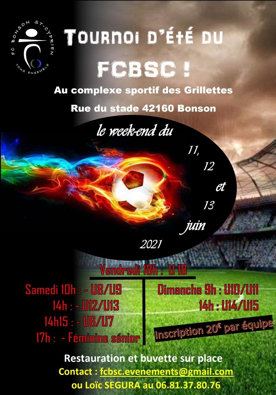 Tournoi Ete FCBSC