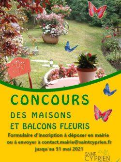 photo concours maisons fleuries 2021