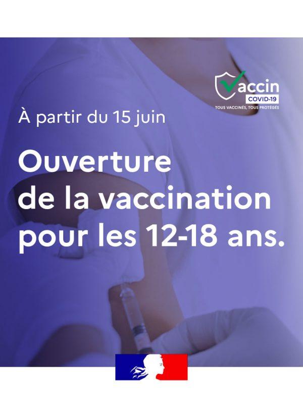 vaccination ados