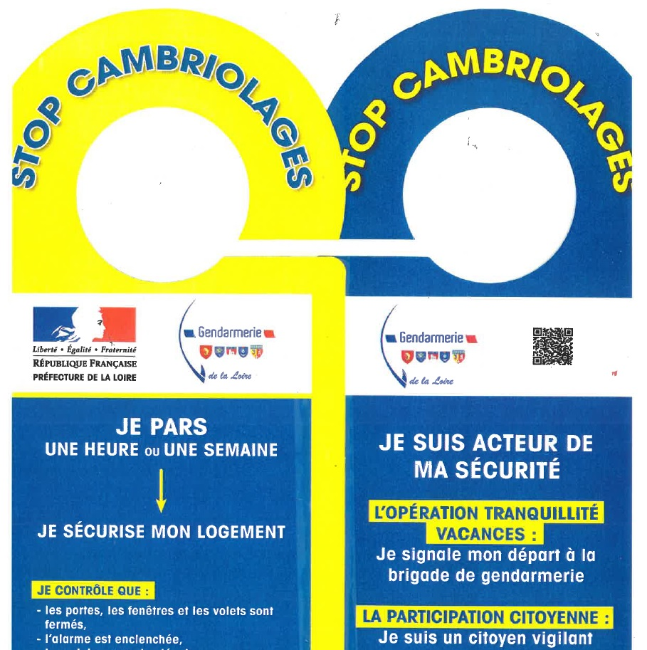 stop cambriolages