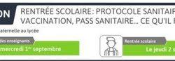 [COVID-19] Rentrée scolaire 2021 : protocole sanitaire