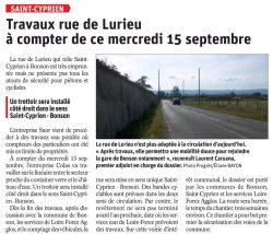 Rue du Lurieu