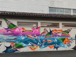 Notre fresque street art est terminée