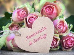 C'est votre anniversaire de mariage ? 50, 55, 60 ans et plus