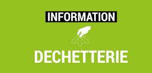 En raison de travaux : FERMETURE DE LA DECHETERIE DE ST JUST ST RAMBERT le mercredi 3 novembre de 9h00 à 12h00